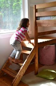 Free Diy Loft Bed Plans by 446 Best Kids Bedroom Tutorials Images On Pinterest Furniture
