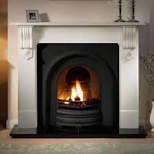 Cast Iron Fireplace Insert by Lytton Cast Iron Fireplace Insert 37