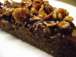 cuisiner des chataignes gâteau à la confiture de châtaignes aux noisettes et au caramel