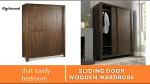 Wardrobes For Bedrooms by Wooden Wardrobe Almirah With Slider Doors New Design 2017