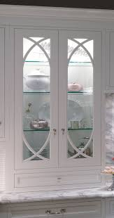 Kitchen Cabinet With Glass Doors Frameless Glass Cabinet Doors Tempered Kitchen Cabinets With On