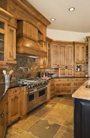 how to decorate around wood kitchen cabinets wood