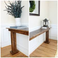 Diy Console Table For 20 The Happier Homemaker