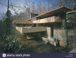 fallingwater or the kaufmann residence is a house designed by