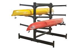 Free Standing Kayak Storage Rack Plans by Commercial Heavy Duty Aluminum Storage Racks For Kayaks Canoes