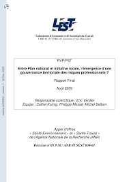 chambre syndical du d agement entre plan national et initiative locale pdf available