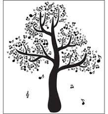 musical tree royalty free vector image vectorstock