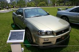 nissan skyline r34 modified file japanese nissan skyline r34 gtr jpg wikimedia commons