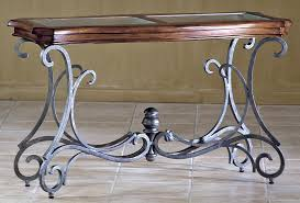 glass top sofa table pewter metal sofa table classic glass top accent furniture