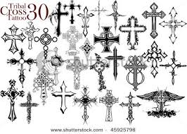 collection of 25 great tribal cross design