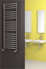 Designer Bathroom Accessories Uk by Reina Eos Curved Designer Radiator 500 X 1500mm Polished Rns Es5150
