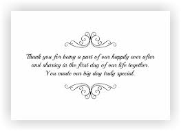 thank you wedding gifts thank you note to accompany your wedding return gift chococraft