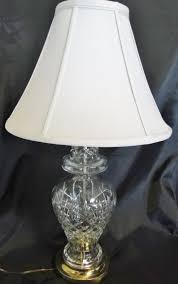 Brass And Crystal Table Lamps Waterford Crystal Table Lamp Shades Best Inspiration For Table Lamp