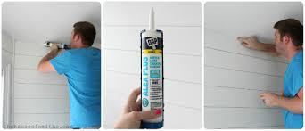 diy wood planked walls tutorial