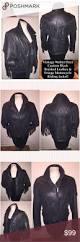 black riding jacket milwaukee stud back womens braided leather cruiser motorcycle