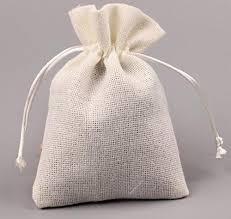 drawstring gift bags generic white jute drawstring gift bag bracelet storage