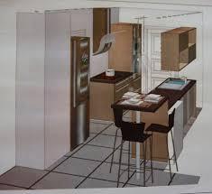 table de cuisine avec plan de travail table cuisine hauteur plan de travail