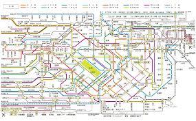 Osaka Train Map Au Supports International Students