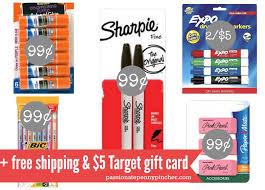 target sharpie pack black friday target 99 supplies 5 target gift card offer