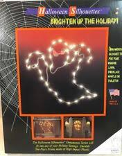 Lighted Halloween Decorations Windows by Halloween Window Silhouettes Ebay