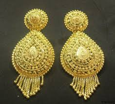 design of earrings jhumka earrings designs 2013 12