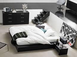 black and white bedroom ideas rectangular grey minimalist wooden