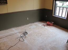 painted floor on particleboard particle board and room