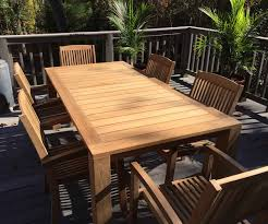 Teak Outdoor Furniture Atlanta by Garrison Extension Table Xl Atlanta Teak Furniture