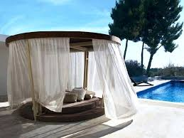 wicker outdoor daybed with canopy image of swinging full size