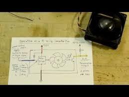 0033 4 wire computer fan tutorial youtube