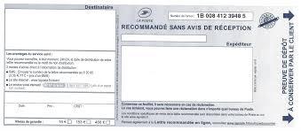 connaitre bureau de poste comment envoyer une lettre recommandé sans avis de réception lr