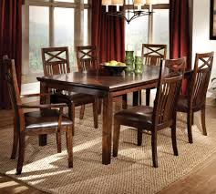 standard furniture sonoma 7 piece leg dining room set in oak availability 2 pieces are out of stock