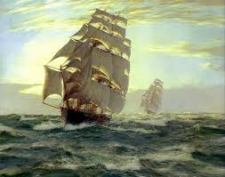 Nautical Painting 334 Best Paintings Nautical And Ocean Related Images On Pinterest