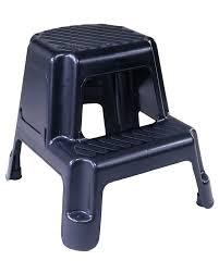 Plastic Stool Amazon Com Cosco 11 911blk Two Step Molded Step Stool Black