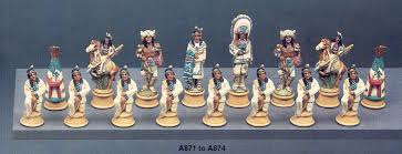 native american indian chess set 32 pieces chess boards