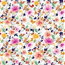 Flowers Seamless Pattern Element Vector Background   flowers seamless pattern element vector background free vector in
