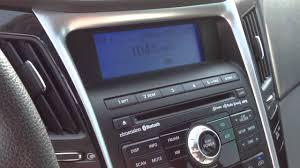 2011 hyundai sonata audio system test comparison vehicle youtube