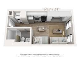 floor plan of studio apartment apartments in center city philadelphia modern apartments avenir