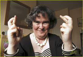 Fingers Crossed Meme - susan boyle is humble at home photo 1860961 susan boyle