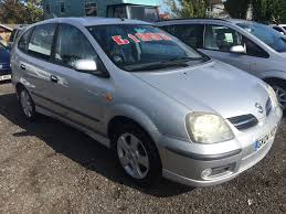 used nissan almera tino se for sale motors co uk