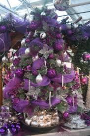 purple and silver christmas tree decorating ideas christmas