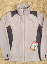 the north face womens khumbu 2 fleece jacket dapple grey size