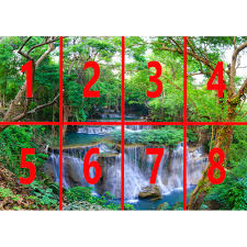 rainbow green spring forest nature waterfall photo mural decor r219 rainbow green spring forest nature waterfall photo mural wall decor r219