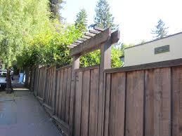 fence deedsdesign exterior pinterest arbors