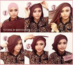 tutorial makeup natural hijab pesta cara memakai jilbab kreasi jilbab paris untuk ke pesta projects to