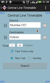 m indicator apk mumbai local timetable 2 11 apk android travel
