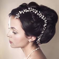 hair decorations bridal hair accessories chester rhinestone bridal hair