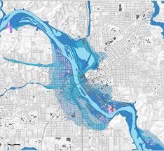 100 Year Floodplain Map Sasaki