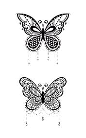 white butterfly tattoos search dibujos