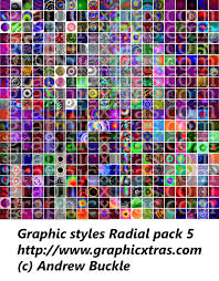 illustrator graphic styles for cc 2017 2015 cs6 cs5 cs4